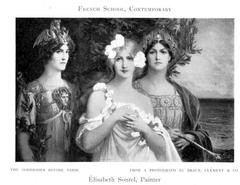 The Goddesses Before Paris