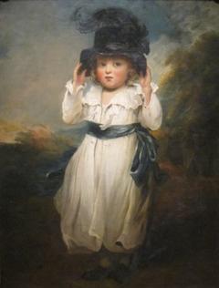 The Hon. Alicia Herbert as a Child
