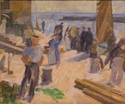 The Mail Boat Arriving, Christiansø