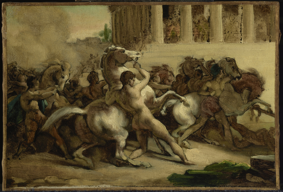 The Race of the Riderless Horses