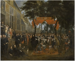 The Reception of Charles II and his Brothers