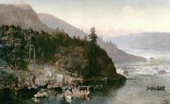 The Red River Expedition at Kakabeka Falls