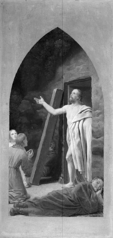The ressurrection. Sketch for an altarpiece