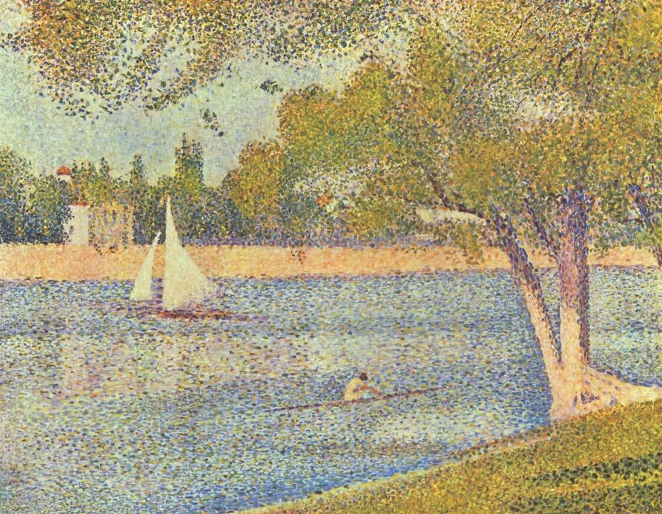 The Seine at La Grande Jatte