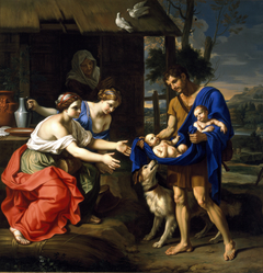 The Shepherd Faustulus Bringing Romulus and Remus to His Wife