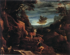 The Vision of Saint Eustace (Carracci)