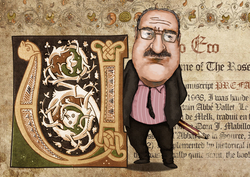 Umberto Eco -caricature