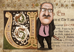 Umberto Eco -caricature