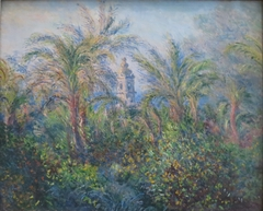 Garden at Bordighera, Impression of Morning