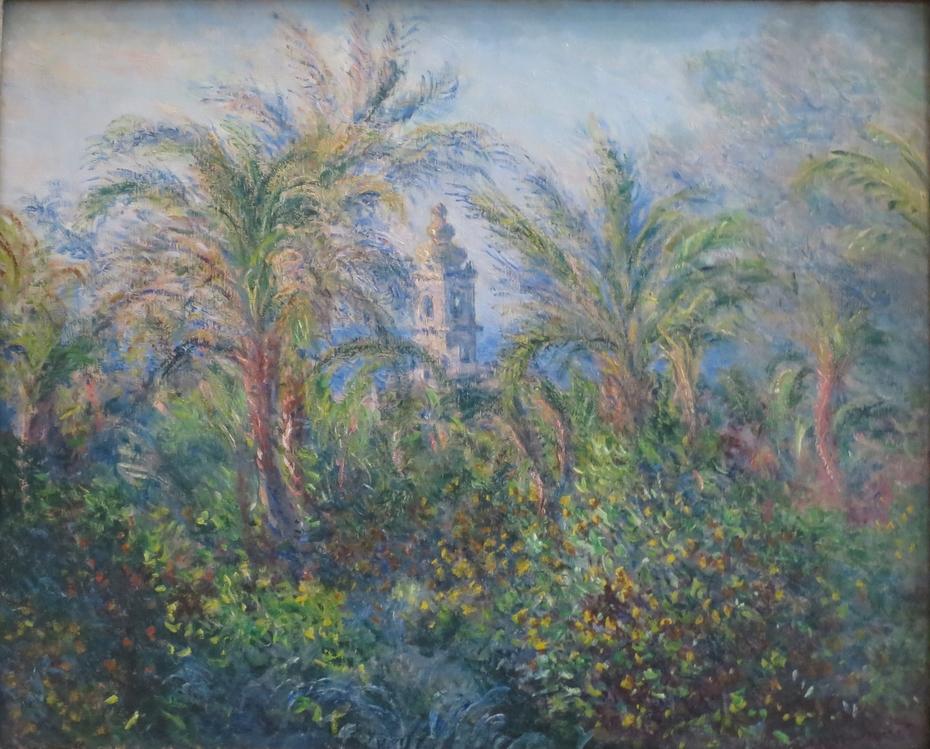 Garden at Bordighera, Impression of Morning