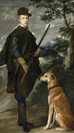 Le Cardinal-infant Fernando d'Autriche chasseur