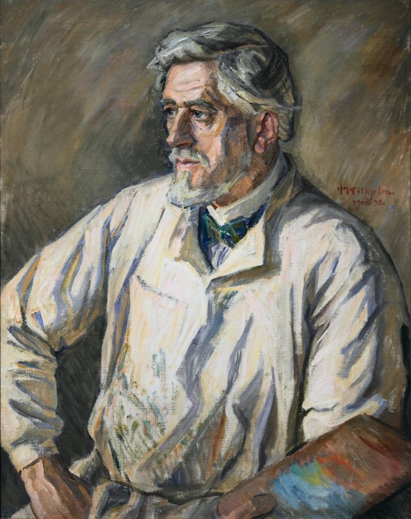 Portræt af J.F. Willumsen