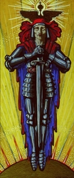 Untitled (Man with a sword)