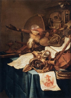 Vanitas with a Royal Crown