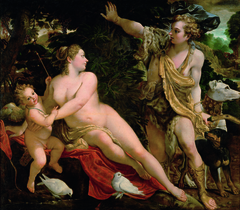 Venus, Adonis and Cupid