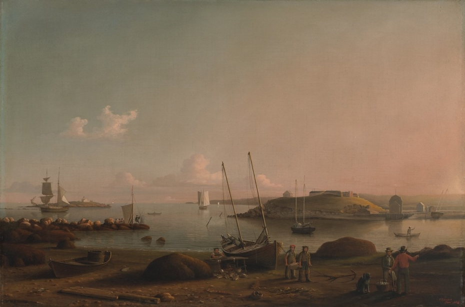 View of Gloucester Harbor