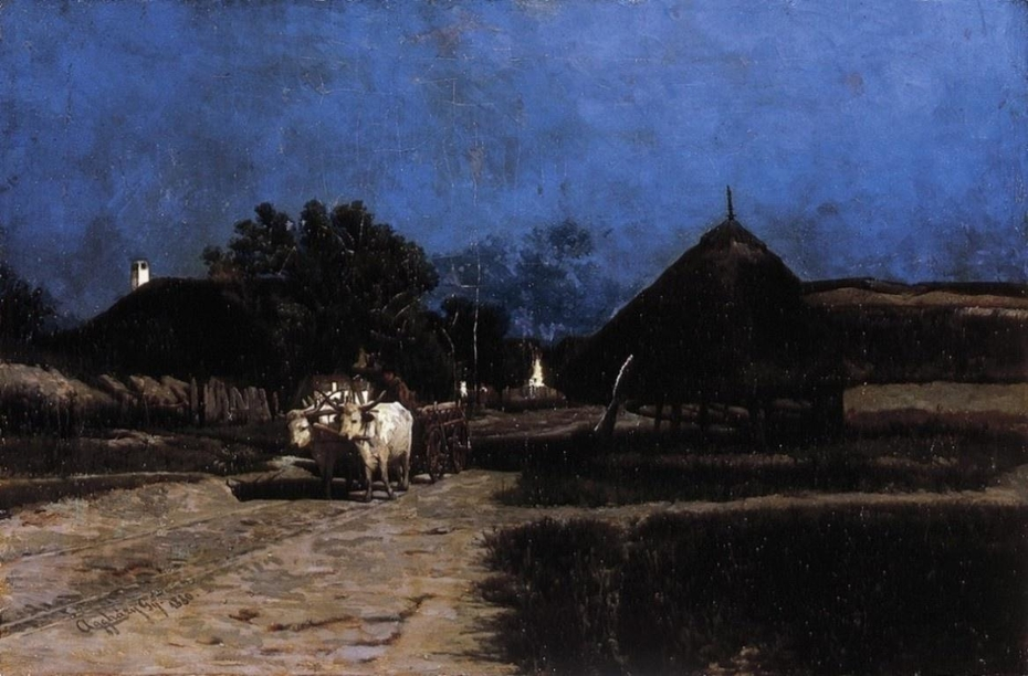 Village at Night