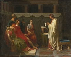 Virgil reading his Aeneid to Augustus