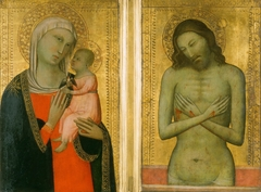 Virgin and Child; Man of Sorrows