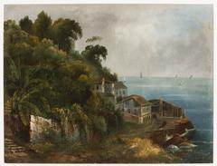 Vue de As Pedreiras a Bahia, entree de la Rade