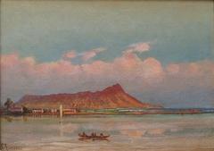 Waikiki with a view of Diamond Head