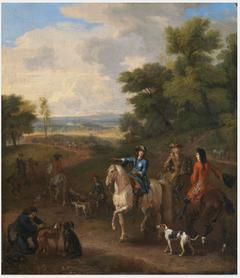 William III Hunting at Het Loo