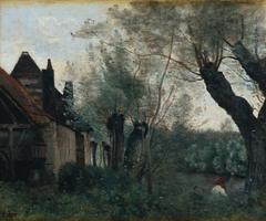 Willows and Farmhouse at Sainte-Catherine-lès-Arras