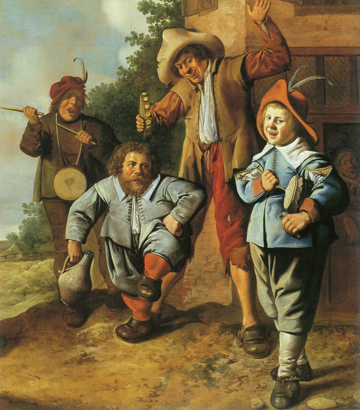 Young Musicians and a Dancing Dwarf