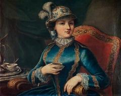 A Girl with a Tea-cup