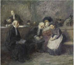 A Scene in the Law Courts