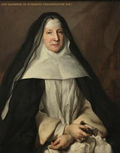 Anne Frances Throckmorton (1664-1734), Prioress of the English Augustinian Convent of Notre-Dame-de-Sion, Paris