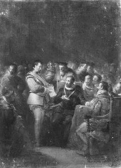 Anno 1572. De eerste onafhankelijke vergadering der Staten van Holland