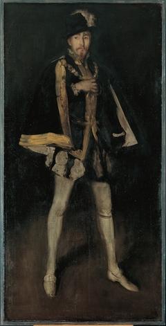 Arrangement in Black, No. 3: Sir Henry Irving as Philip II of Spain