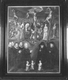 Bam Family Altarpiece, copy to original in the Sankt Nicolai Kirche in Kalkar