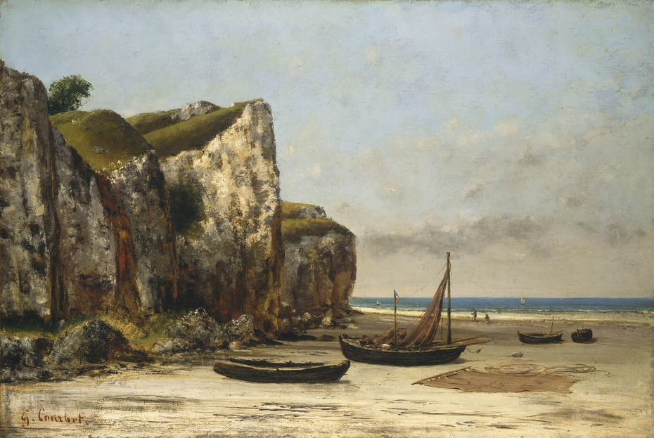 Beach in Normandy