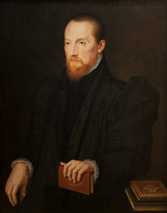 Bearded, red-headed Man, seated