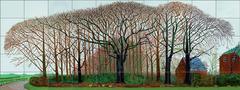 Bigger Trees Near Warter or/ ou Peinture sur le Motif pour le Nouvel Age Post-Photographique