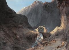 Building of the Devil's Bridge