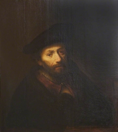 Bust of a Man with Beard and Beret