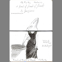 Carnet Bleu: Encyclopedia of…shark, vol.VI p28 by Pascal