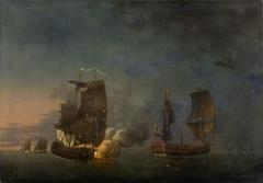 Combat de la Belle-Poule contre l'Arethuse, 17 juin 1778