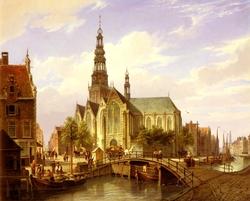 Cornelis Dommelshuizen: A Capriccio View of Amsterdam