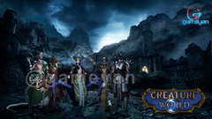 Creature World – 3D MMO Low Poly Game Character by Gameyan 3d low poly character developers Amsterdam, Netherland