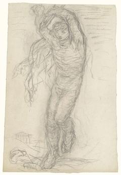Dansende figuur, van voren