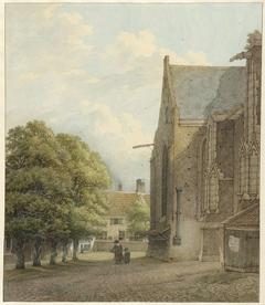 De kerk te Rhenen