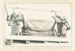 De lakenfabricage: een droogscheerbank