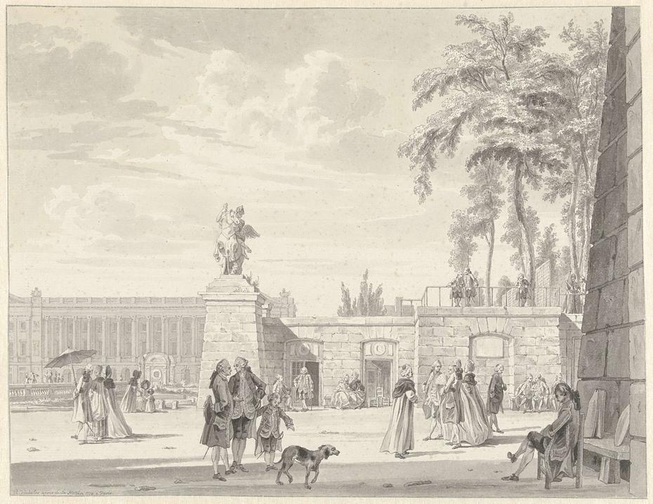 De Tuilerieën in Parijs