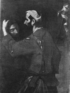 Der Henker mit dem Haupte Johannes des Täufers (Nachahmer)