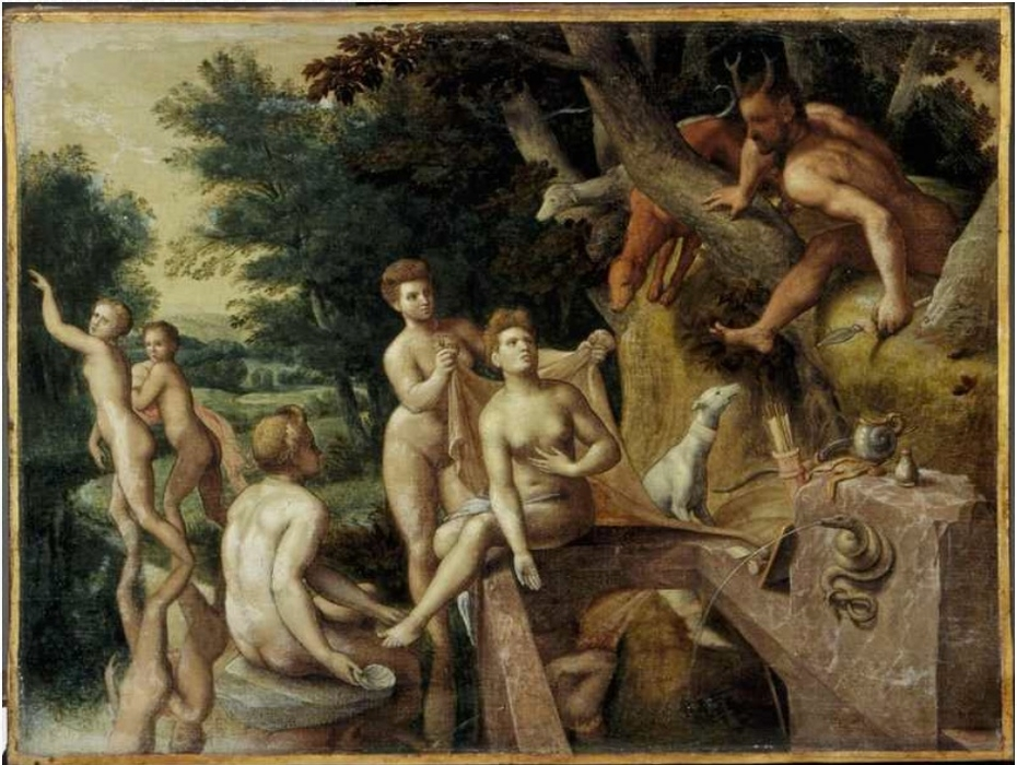 Diana en Actaeon