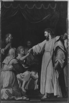 Die Auferweckung der Tochter des Jairus (Werkstattkopie)